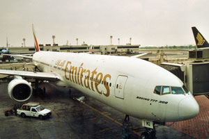Emirates-Flieger
