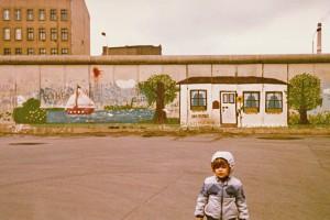 Historisch Berliner Mauer 1982
