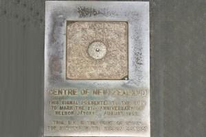 Gedenktafel in Nelson