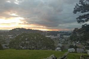 Ausblick vom Mt. Hobson